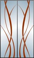 Абстракция на 2 двери